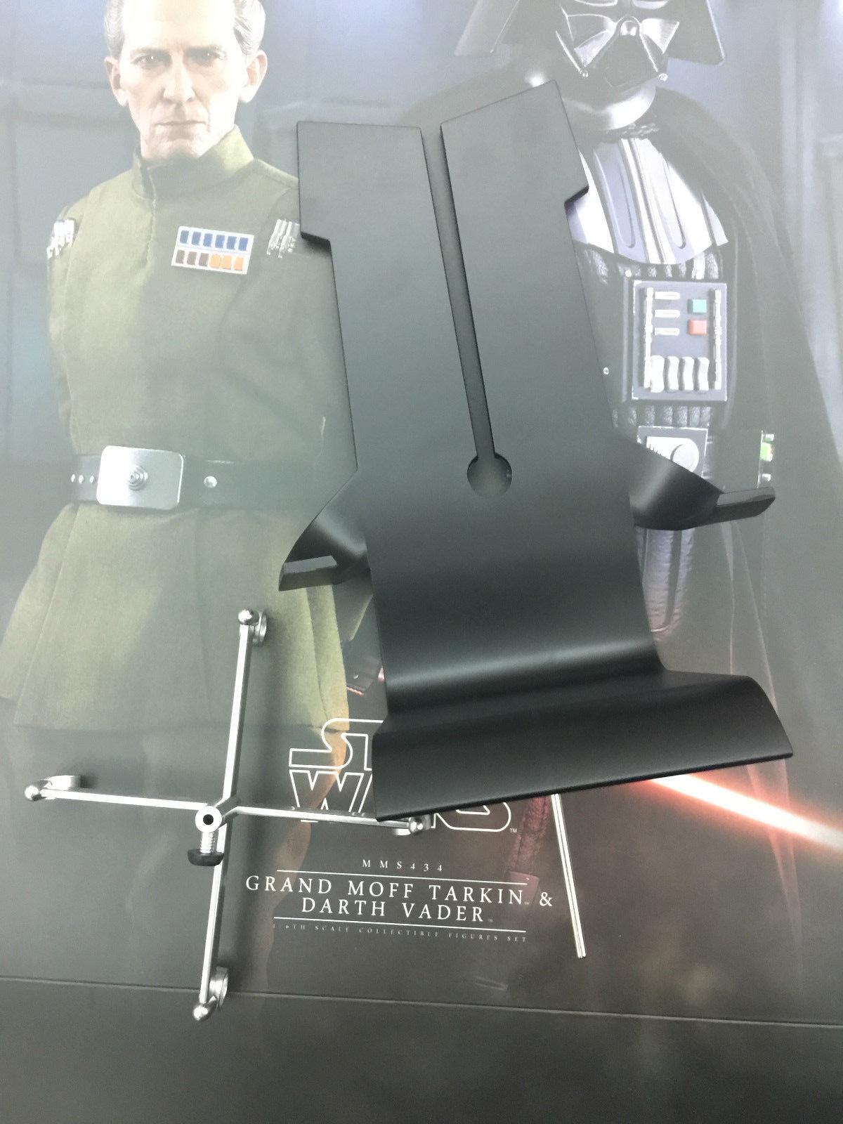 Hot Juguetes Darth Vader & Moff Tarkin MMS434 - 1 6th conjunto de silla de escala Moff's
