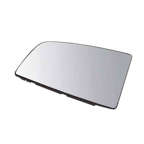 Right Driver Side OS Door Wing Upper Mirror Glass Unheated Ford Transit 14-On