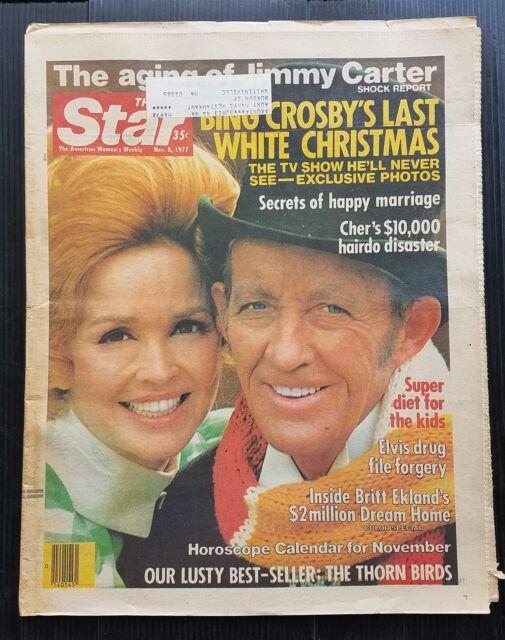 Vintage Star Magazine Nov 8, 1977 Bing Crosby - Jimmy ...