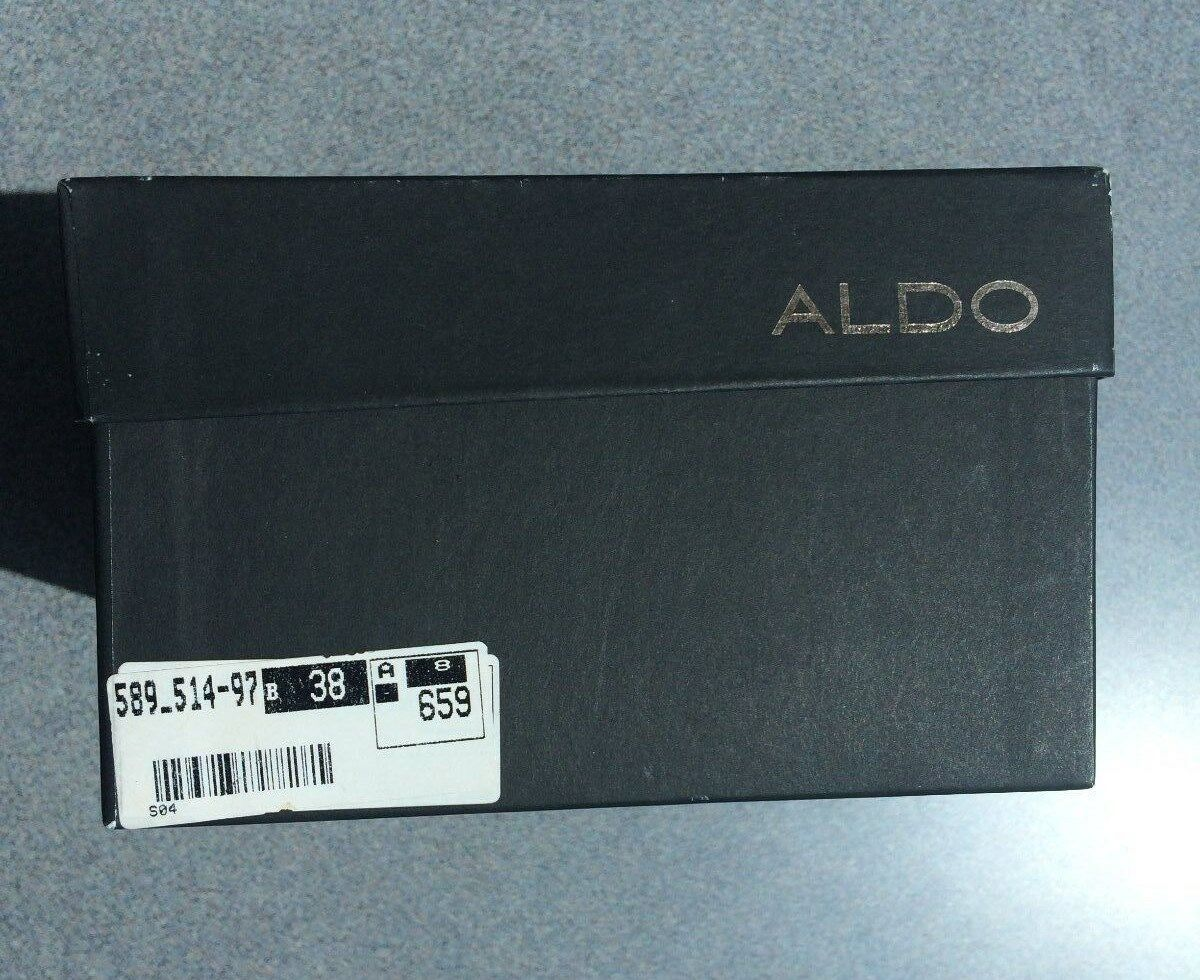 Brand New - Made in    Limited Edition Aldo shoes, Black Leather, Size 38 9aa4fd