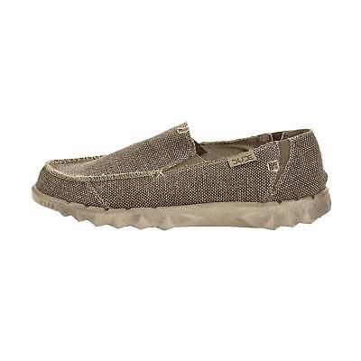 Aufstrebend Hey Dude Shoes Farty Natural Tundra Organic Cotton Slip On Mule Beach Shoe Attraktives Aussehen