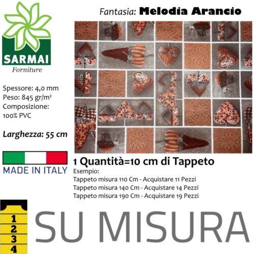 Tappeto da cucina passatoia lavabile spugna antiscivolo TAGLIO 10 CM SU MISURA