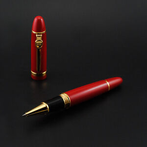 Promotion-Jinhao-159-General-Red-Rollerball-Pen-Golden-Clip
