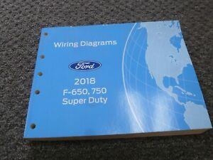 2018 Ford F650 Super Duty Truck Electrical Wiring Diagrams Manual Xl Xlt Lariat Ebay