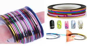 Mixed-30-Colours-Roll-Wrap-Striping-Tape-DIY-Nail-Art-Tips-Line-Deco-Sticker