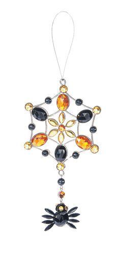 """ACRYF-07 Ganz 6.5/"""" Spider Web Ornaments Choose Your Color"""