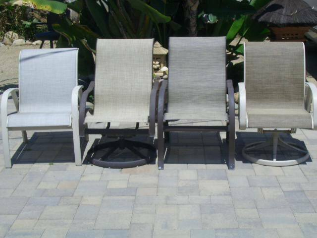 Patio Chair Replacement Sling Sewn, Patio Furniture Fabric