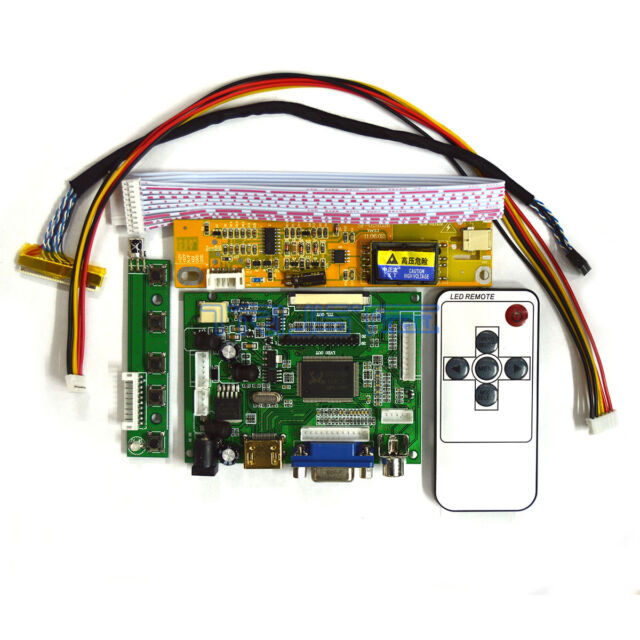 A1 TV+HDMI+VGA+USB LCD LED screen Controller Driver Board TL Kit for LP156WH2