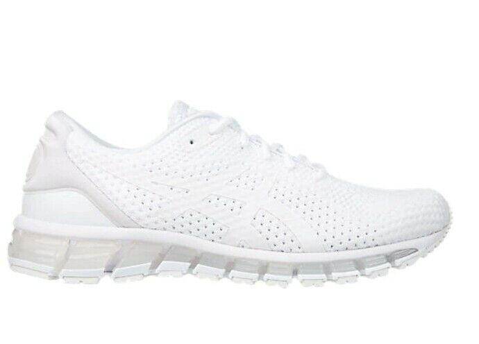Asics Men GEL-QUANTUM 360 Knit 2 Road Running shoes All White color Sneakers