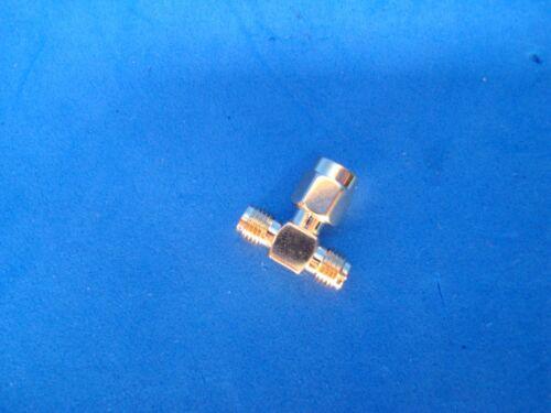 RP-SMA Y Adaptor Wireless Router Dual Antenna 2 Male 1 Female WiFi T Splitter