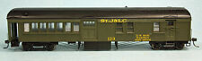 StJ&LC RPO BAGGAGE COACH 113 HO Model Railroad Passenger Car Unpainted Kit SPK65