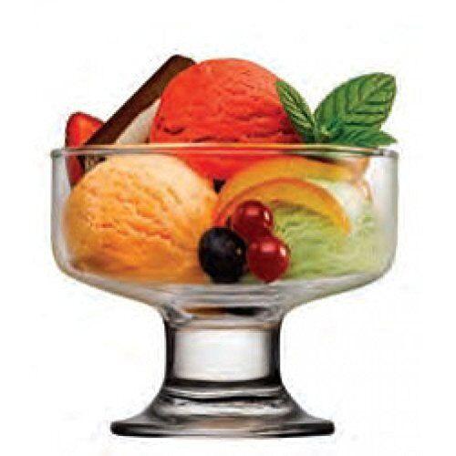 """Pasabahce 41016 – 6er Set Taza de Cristal """"Iceville"""" para Hielo Ensalada Dessert"""