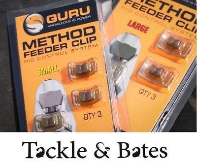 Guru Mini Méthode Feeder 20 g /& 30 G match feeder grossier pêche