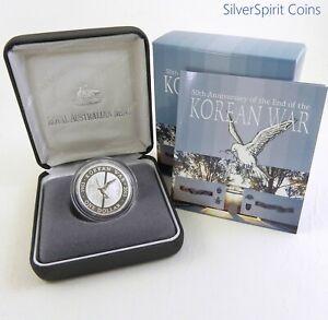 2003-KOREAN-WAR-ANNIVERSARY-Silver-Proof-Coin