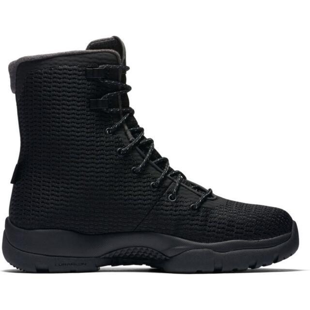 Men's Jordan Future Boot 854554-002 BLACK/BLACK-DARK GREY JORDAN BOOT
