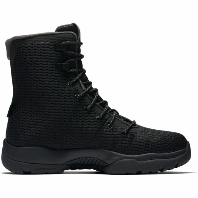 b29979c47a690 Men s Jordan Future Boot 854554-002 BLACK BLACK-DARK GREY JORDAN BOOT