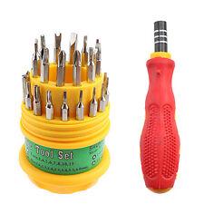 31 in 1 Screwdriver Set Mobile Phone Repair Kit Tools T3 T4 T5 T6 T7 T8 T10 T13
