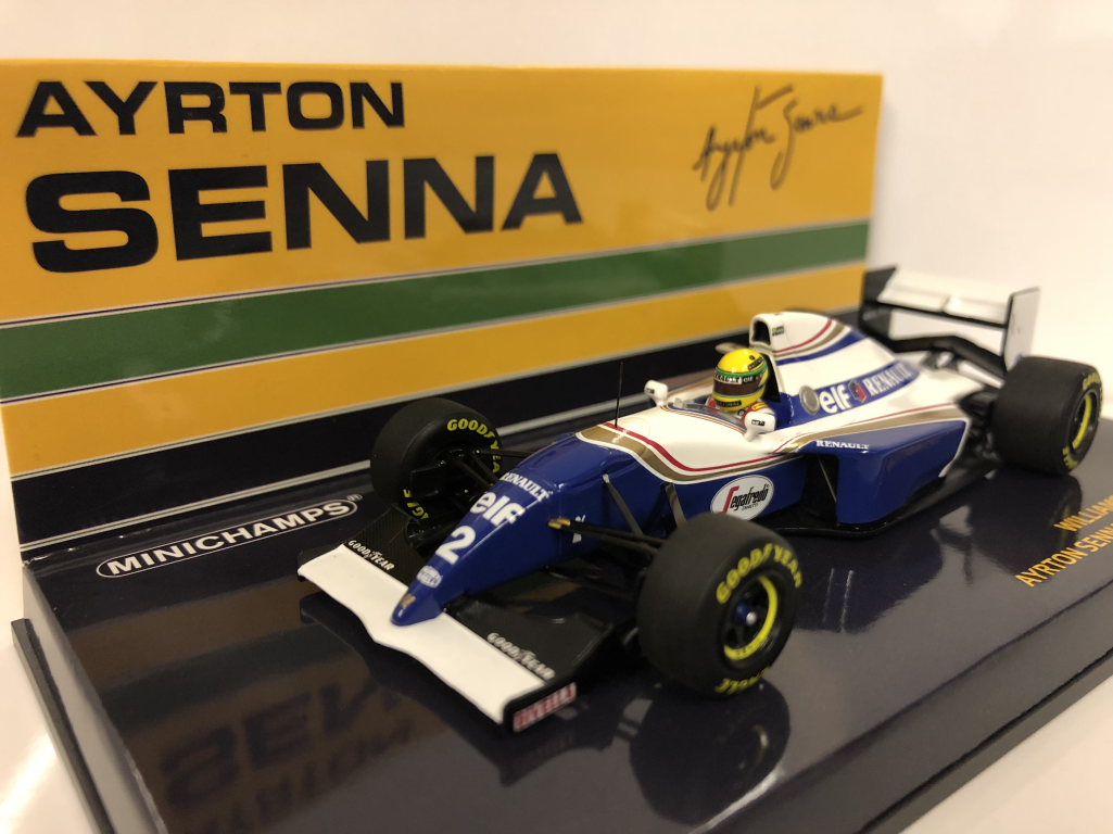 Minichamps 547940102 Williams Renault FW16 Ayrton Senna Brésilien Gp 1994