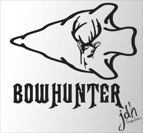 Bow Hunter Vinyl Decal Sticker Bow Hunt Deer Camo Stand Matthews Buck h1215