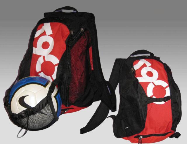 New Nike T90 Total 90 Football BACKPACK Rucksack Bag Nutmeg + FREE Nike  football 95193569c422e