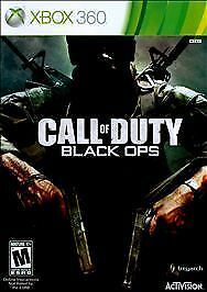 Call Of Duty Black Ops Xbox 360 2010 For Sale Online Ebay