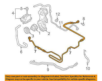 power steering diagram for 2003 audi a4 audi oem 01 06 tt quattro power steering pressure hose 8n0422893aa  tt quattro power steering pressure hose