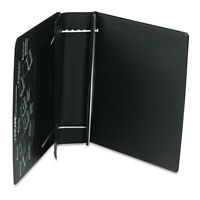 Charles Leonard Varicap6 Expandable 1 To 6 Post Binder 11 X 8-1/2 Black 61601 on sale