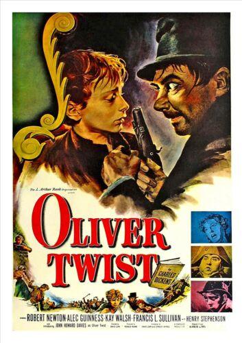 Oliver Twist Movie Retro Vintage Poster Drama Polanski Film Photo Picture Print