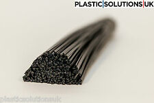 Mdpe Varillas de soldadura de plástico (5mm) Negro forma triangular 20 un.// Polietileno