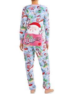 Santa Claus Onesie Pajamas Size Small Womens One Piece ...