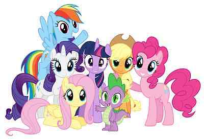My Little Pony Group Pinky Dash Wall