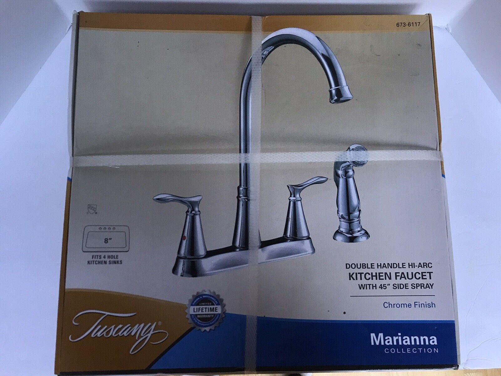 Moen 87986cpr Hi Arc Two Handle Copper Kitchen Faucet W Spray Nos For Sale Online Ebay