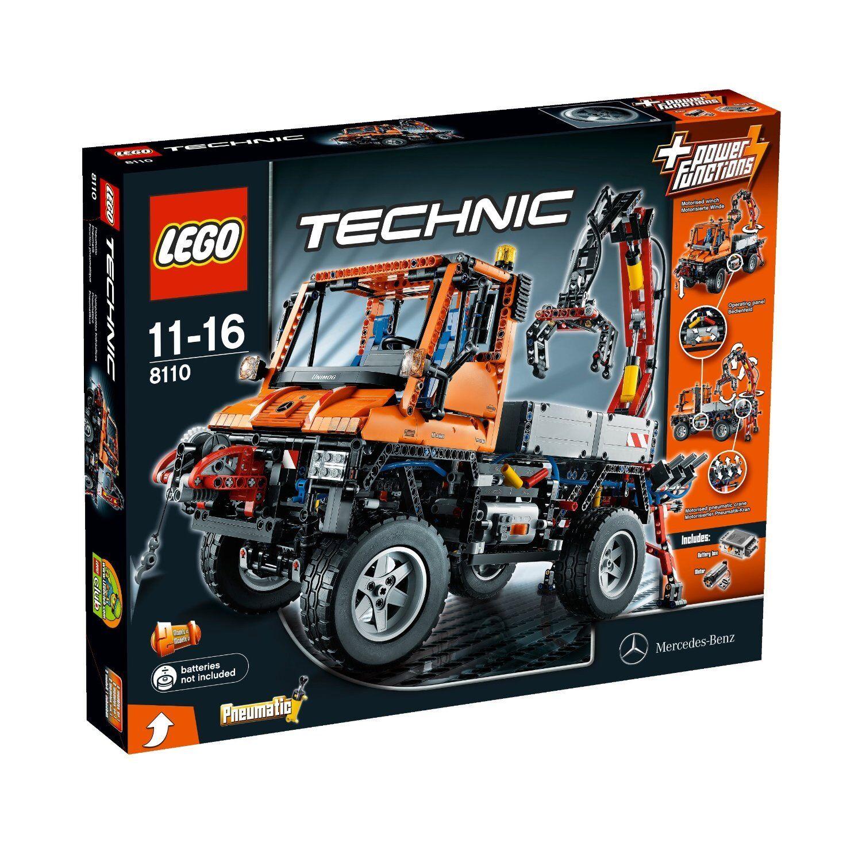 RARE  LEGO TECHNIC 8110-UNIMOG u400, neu&ovp
