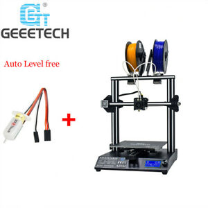 Details about Geeetech A20M 3D Printer 2 in 1 out Extruder Quick Assembly  Auto-level from USA