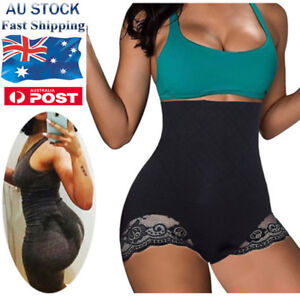 AU-High-Waist-Body-Trainer-Butt-Lifter-Panties-Tummy-Control-Girdle-Women-Shaper