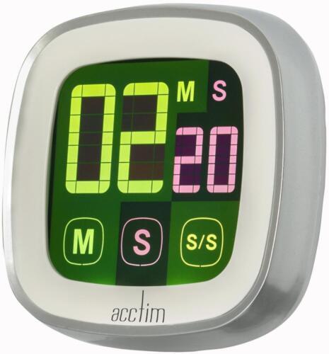 LCD Parchemin Multi Écran tactile Digital Frigo Magnétique Cuisine Minuteur Touch Acctim