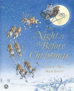 034-VERY-GOOD-034-The-Night-Before-Christmas-Moore-Clement-C-Book
