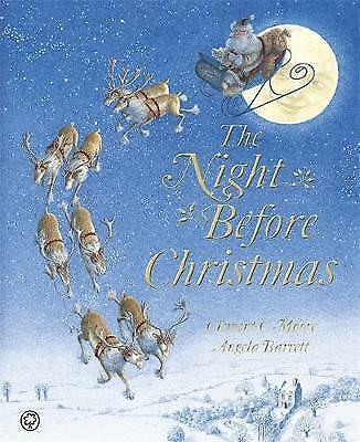 1 of 1 - Very Good, The Night Before Christmas, C Moore, Clement, Book