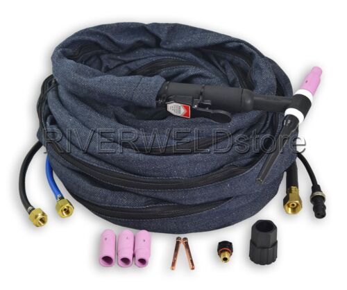 WP18-25 water cooled WP-18 SR-18 TIG Welding torch 25FT