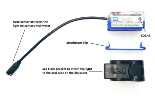 attaches to oral tube United Moulders Fixing Bracket for UML Sea Flash Light