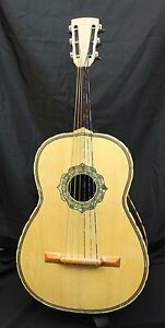used j l reyes mexican guitarron acoustic 6 string bass guitar. Black Bedroom Furniture Sets. Home Design Ideas