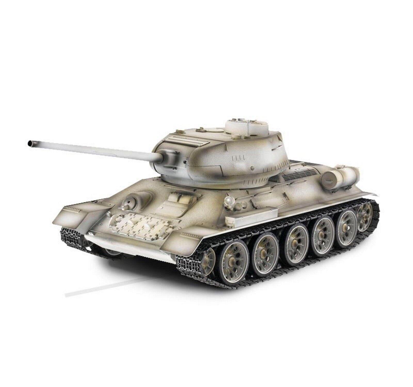 Torro 1 16 Rc Tanque T34 85 Bb 1111900401 Profesional Metal Edición