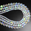 Natural-Stone-Crystal-White-Austria-Round-Loose-Beads-Moon-Jewelry-DIY-Making thumbnail 3