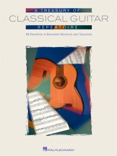 A Treasury of Classical Guitar Repertoire Sheet Music Guitar Collectio 000699671