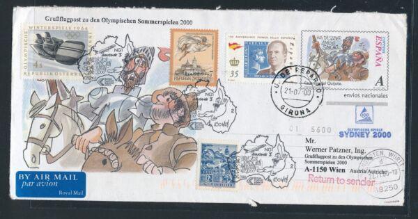 09644) Lauda Olympiades Pour Lp Vienne-sydney 15.9.2000, Gau Espagne Don Qu.