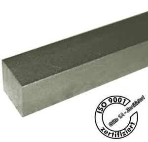 Silberstahl Vierkant  DIN178-3//3mm bis 12//12mm Zuschnitt 500mm lang