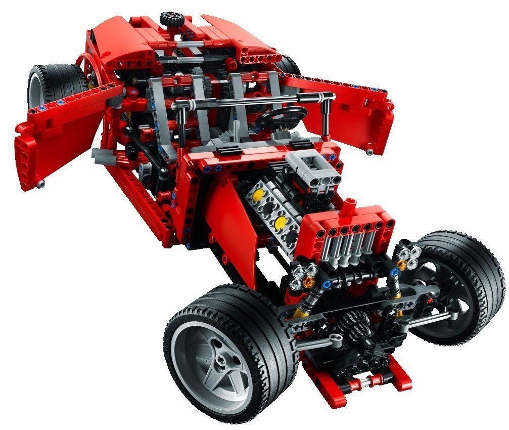 Lego Lego Lego Technic Model Traffic Set 8070-1 Supercar 100% complete +instructions +box 6fc84d