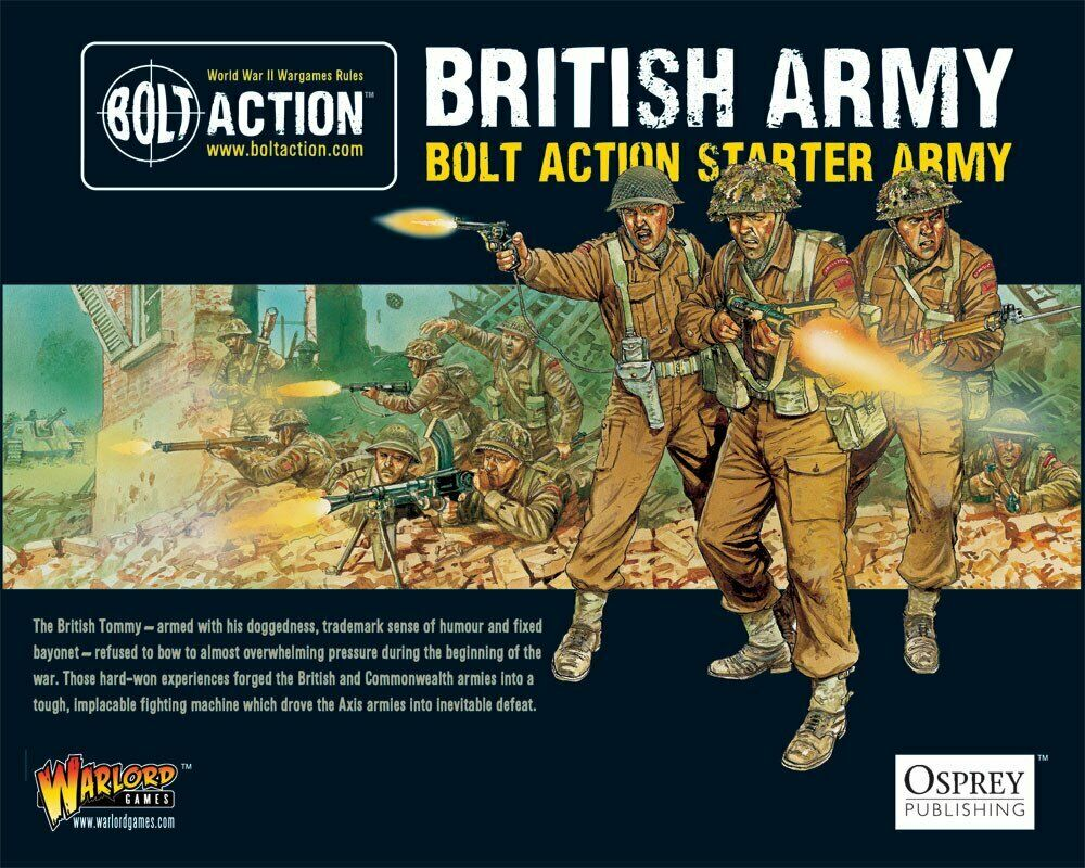 Bolt Bolt Bolt Action British Starter Army Warlord Games 409911012 64239d