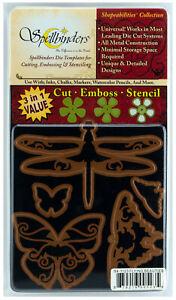 Spellbinders-Shapeabilities-Flying-Beauties-Die-Cut-Emboss-amp-Stencil-Set