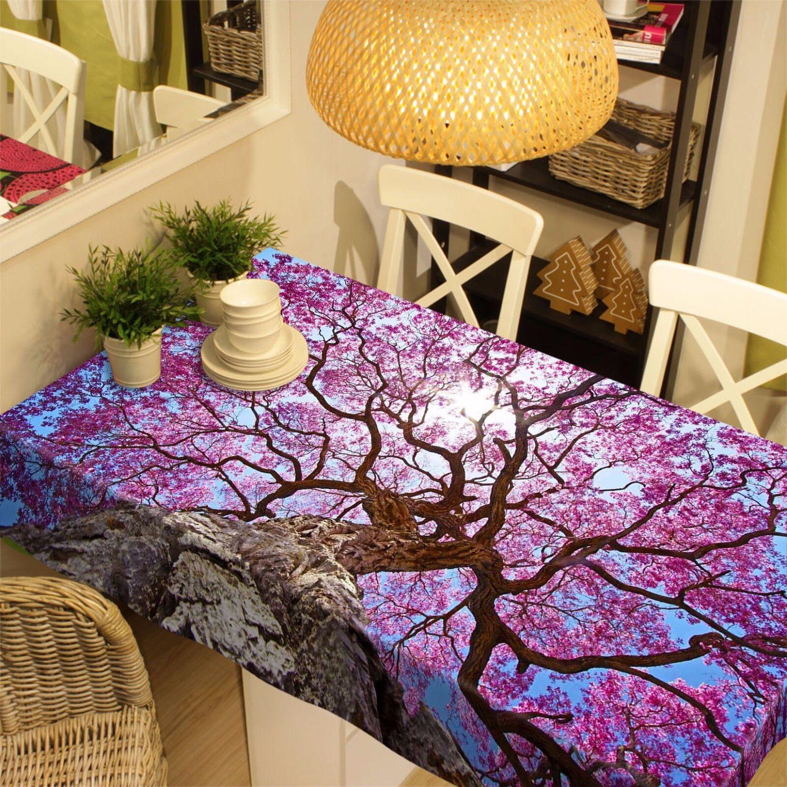 3D Rose Arbre 80 Nappe Table Cover Cloth Fête D'Anniversaire événement AJ papier peint UK